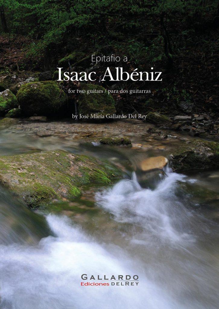 Gallardo-Del-Rey-Epitafio-a-Isaac-Albéniz.-Cover